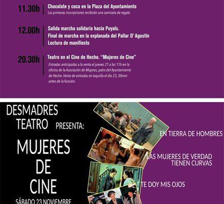 Cartel Día Internacional contra la Violencia de Género